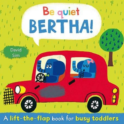 Be Quiet, Bertha! 巴沙,小聲點哦! 精裝硬頁翻翻書