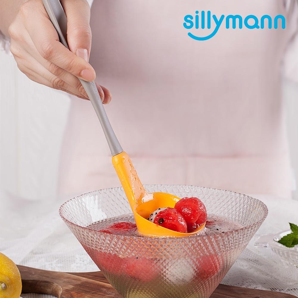 【韓國sillymann】 100%鉑金矽膠長柄湯勺(小)