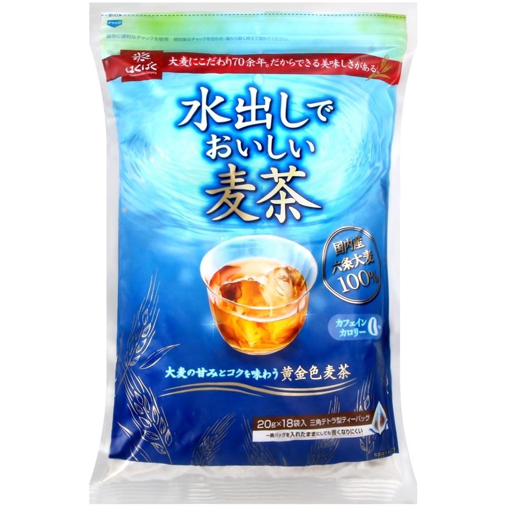 Hakubaku 冷水可用麥茶(360g)