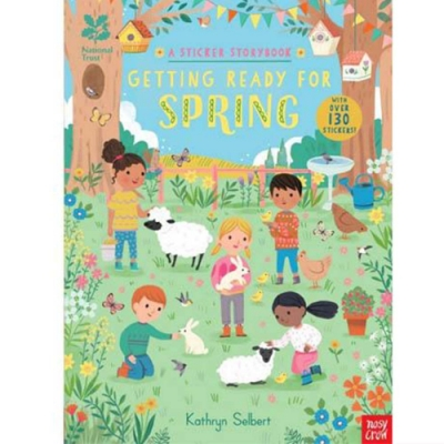 National Trust:Getting Ready For Spring A Sticker Storybook 春天活動貼紙書