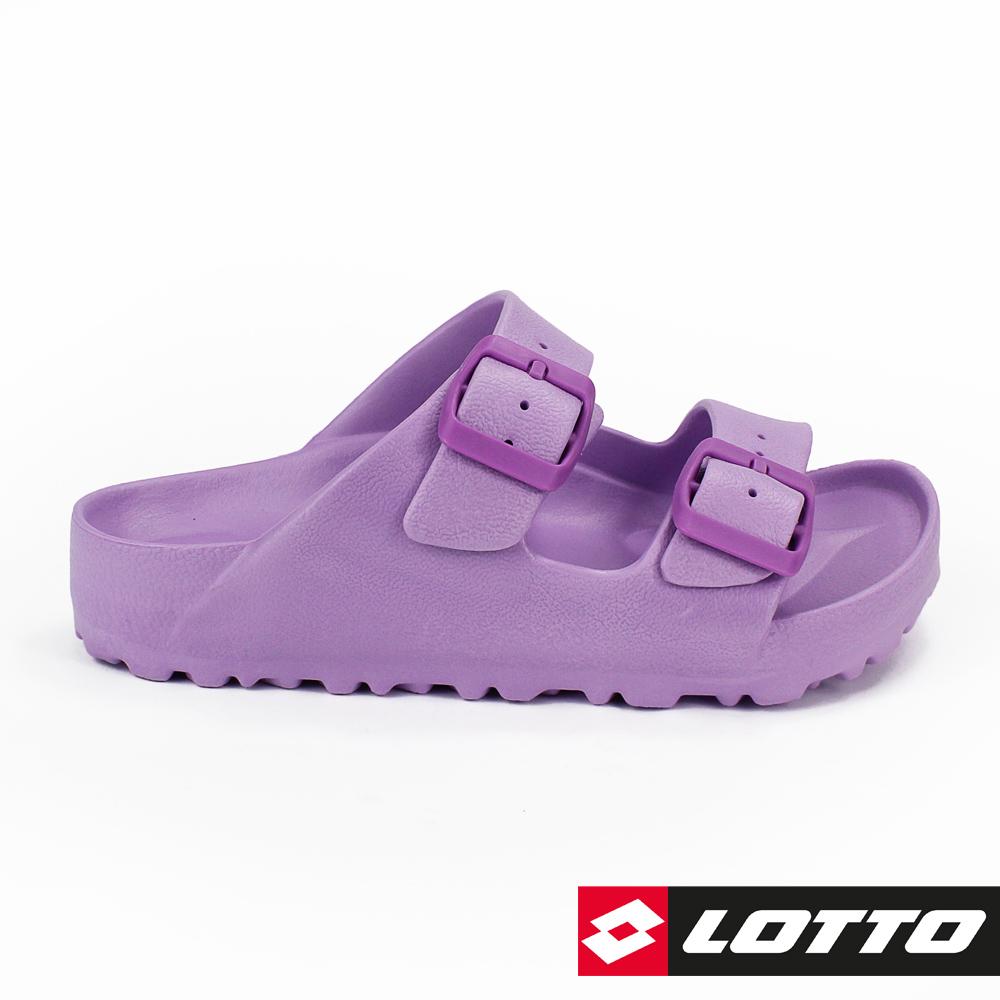 LOTTO 義大利 童 BURANO拖鞋 (紫)