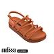 Melissa x Salinas 聯名編織繩厚底涼鞋 橘 product thumbnail 1