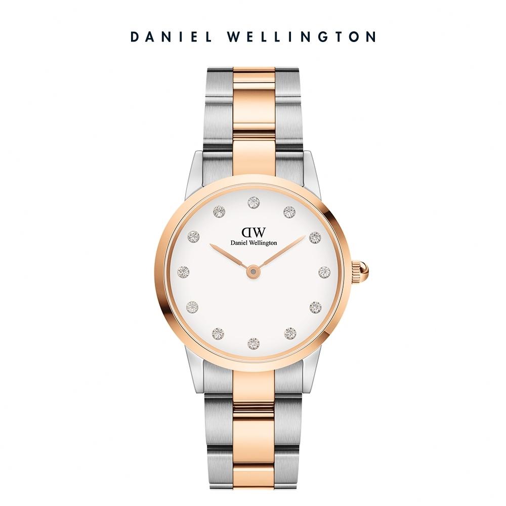 【Daniel Wellington】官方直營 Iconic Link Lumine 28mm精鋼錶-雙色 DW手錶