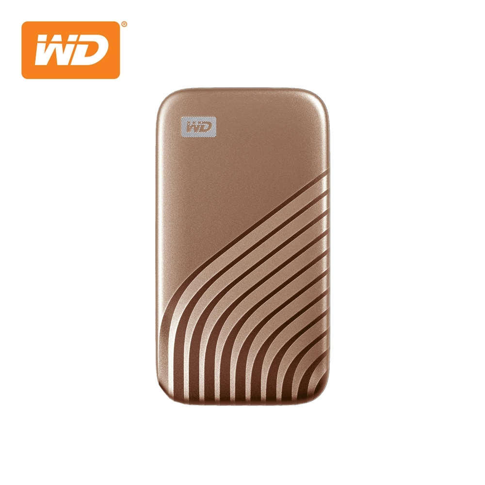 WD My Passport SSD 1TB(玫瑰金) 外接SSD