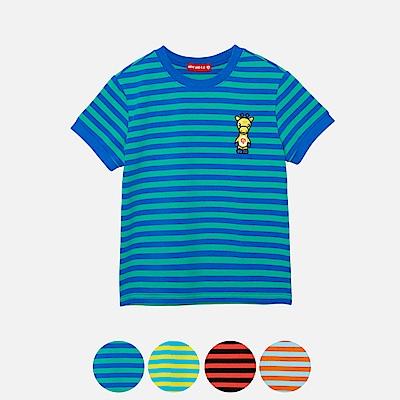 WHY AND 1/2寬版棉質萊卡T恤 11Y~14Y以上 多色可選