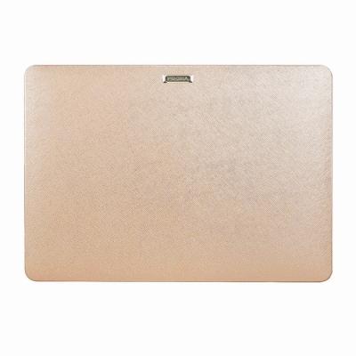 Proxa MacBook Air Retina 13吋 2018 防刮十字紋保護殼(玫瑰金)