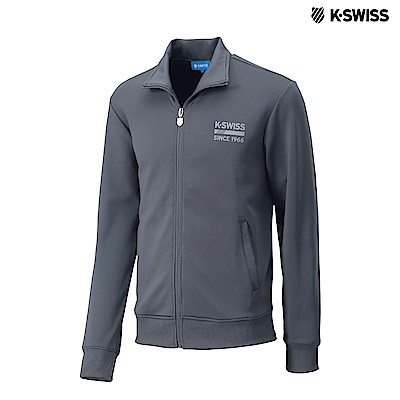 K-SWISS Retro Jacket運動外套-男-灰