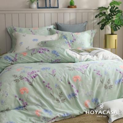 【HOYACASA 】加大抗菌天絲兩用被床包四件組-伊芙琳