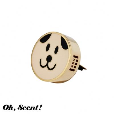 Oh, Scent! 精緻車上香氛表情款 Puppy-狗狗(濟州島)