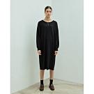 Shester55-圓領鬆軟針織洋裝(兩色)-女【VSH028】