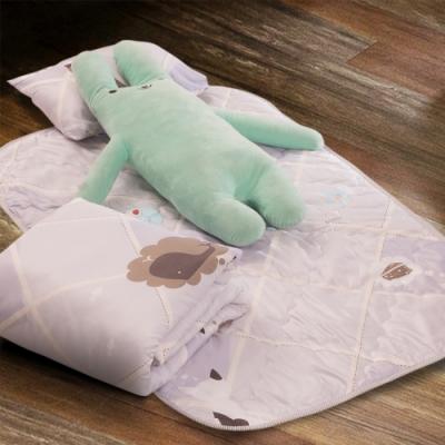 Carolan-沉思的貓 3M專利+頂級天絲-兒童專用睡墊三件式