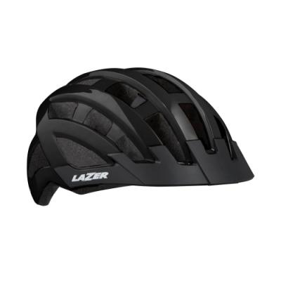 【LAZER】COMPACT 自行車安全帽 黑色