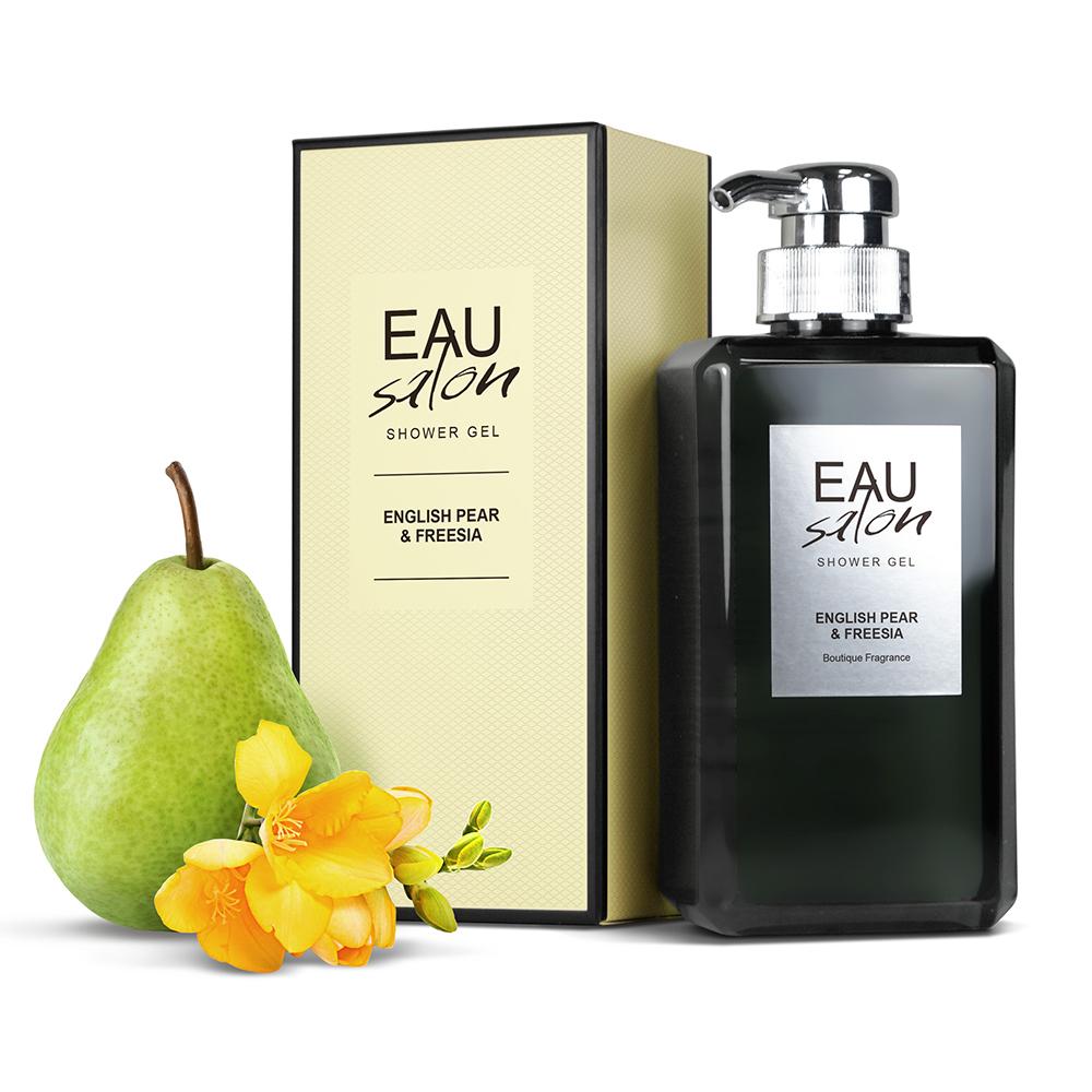 EAU Salon耀.沙龍 香氛沐浴露-英國梨與小蒼蘭500ml