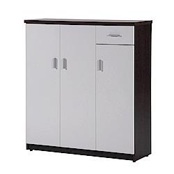 文創集 蘿倫環保3.2尺塑鋼單抽鞋櫃(11色)-96x36.5x106cm-免組
