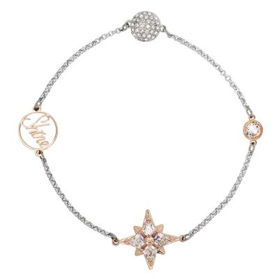 SWAROVSKI 施華洛世奇 REMIX璀璨水晶閃耀繁星銀色手環手鍊