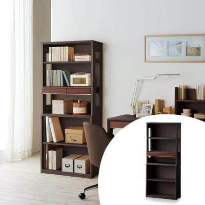 KOIZUMI_WISE六層雙抽開放書櫃KWB-652‧幅70cm