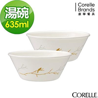 CORELLE康寧 冬日詩篇2件式湯碗組(201)