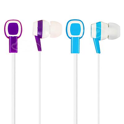 LIBERTY利百代 雙色渲染-入耳式防纏繞扁線立體聲音效耳機  LB-1518