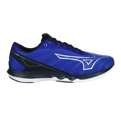 MIZUNO WAVE SHADOW 5 男慢跑鞋-WIDE-寬楦 美津濃 J1GC212705 藍黑銀