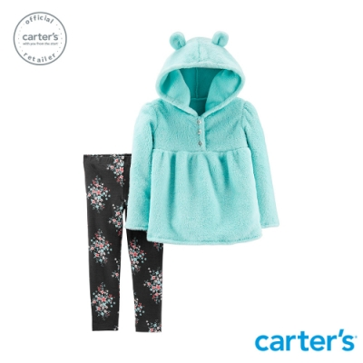 Carter s台灣總代理 毛茸茸造型2件組套裝 (2歲-5歲)