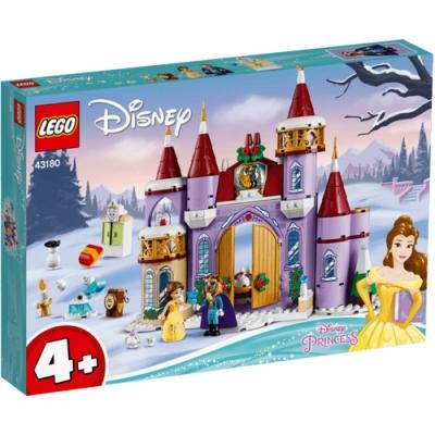 樂高LEGO 迪士尼公主系列 - LT43180 貝兒的城堡冬季慶典