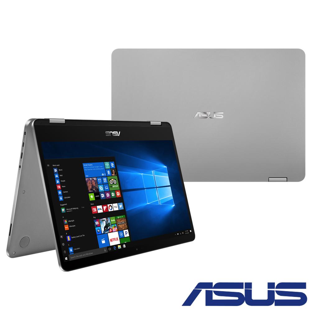 ASUS J401MA 14吋觸控筆電 (N4000/4G/64G/Win10(S)/紳士灰)