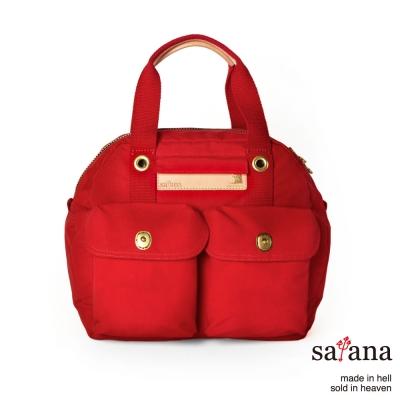 satana - 旅行後背包/保齡球包 - 中國紅