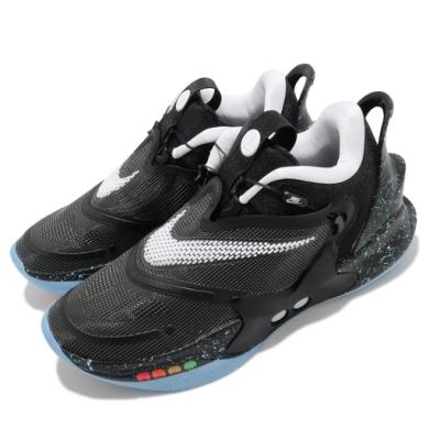 Nike 籃球鞋 Adapt BB 2 0 運動 男鞋 氣墊 避震 包覆 自動綁鞋帶 球鞋 黑 白 BQ5397002