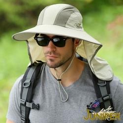 JUNIPER 抗紫外線UV防曬披風超大頭圍尺寸高頂帽