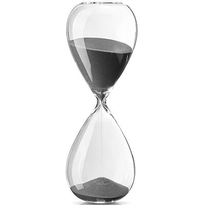 《PHILIPPI》60分鐘計時沙漏(霧黑)