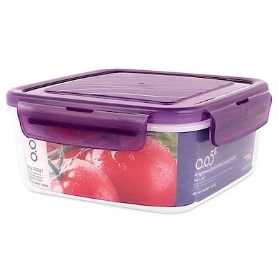 樂扣樂扣O.O5系列PP保鮮盒正方形900ML-魅力紫(快)