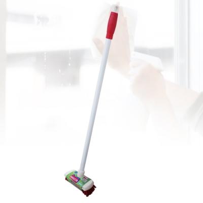 多魔潔 2入歐式鋼管輕巧省力巧用PET刷毛地板刷一刷