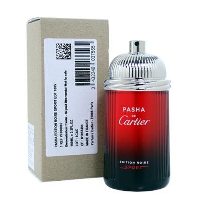*Cartier 卡地亞 Pasha 巴夏運動黑色版男性淡香水100ml tester