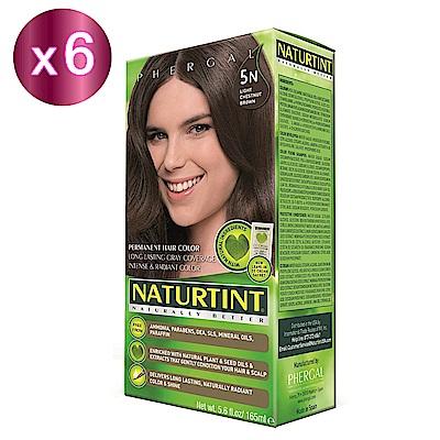 NATURTINT 赫本染髮劑 5N 淺棕黑色x6 (155ml/盒)