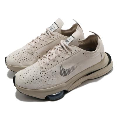 Nike 休閒鞋 Air Zoom Type 運動 男鞋 氣墊 舒適 避震 簡約 球鞋 穿搭 米白 銀 CJ2033102