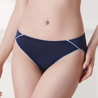 黛安芬-舒活自在系列低腰內褲 M-EEL 海水藍