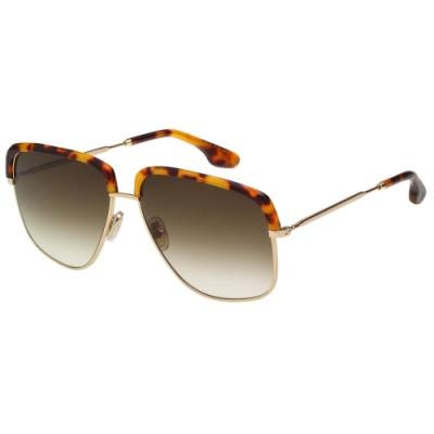 Victoria Beckham 維多利亞貝克漢 太陽眼鏡 (琥珀+淡金色)VB201S