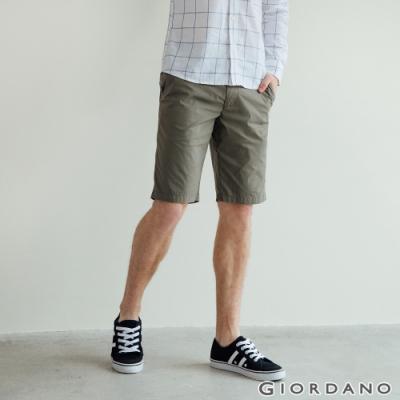 GIORDANO  男裝彈力輕薄短褲 - 50 葡萄葉綠