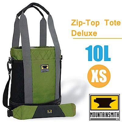 MountainSmith Zip-Top Tote Deluxe可提可背側背包10L_綠