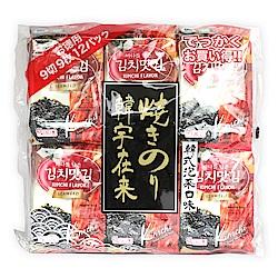 韓宇在來 韓國海苔超值包-泡菜口味(4.5gx12入)