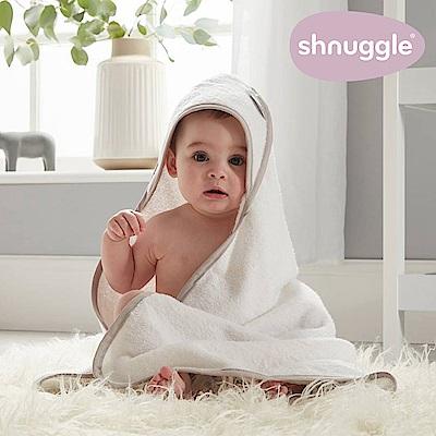 【英國Shnuggle】連帽圍裙式浴巾(歐洲製造 純棉超吸水)