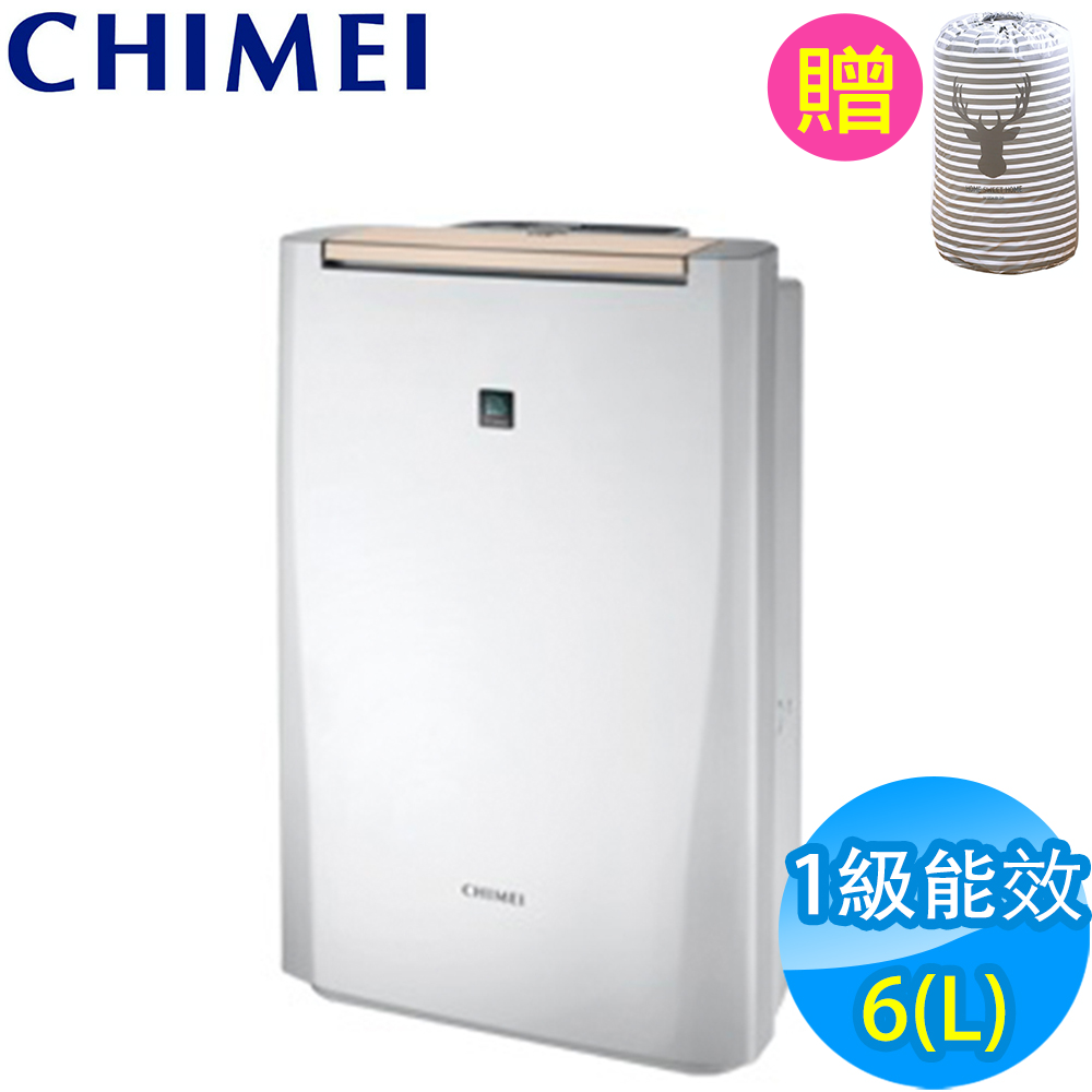CHIMEI奇美 6L 1級時尚美型清淨除濕機 RH-06E0RM