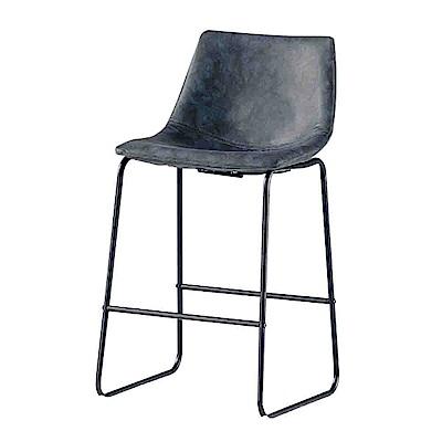 Bernice-伊德森吧椅/高腳椅(矮)(兩色可選)-46x35x93cm