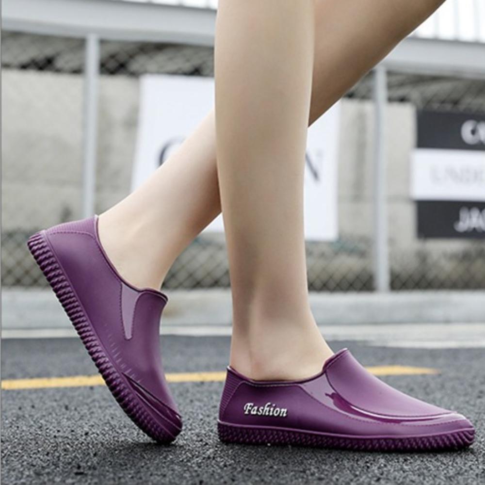 LN  現+預 時尚短筒防水防滑雨鞋(低筒/雨靴)