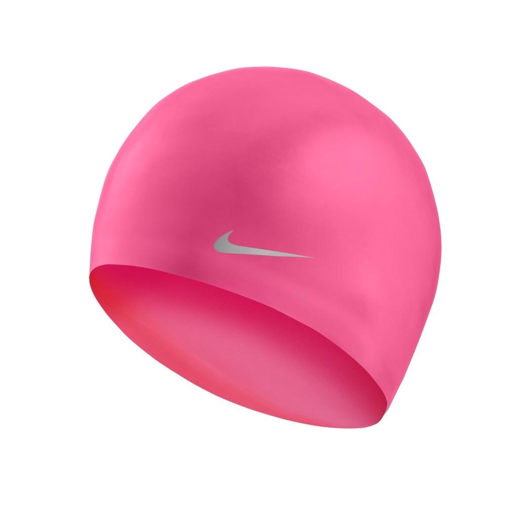 NIKE  兒童 泳帽 矽膠 粉 男女童 粉 TESS0106-678