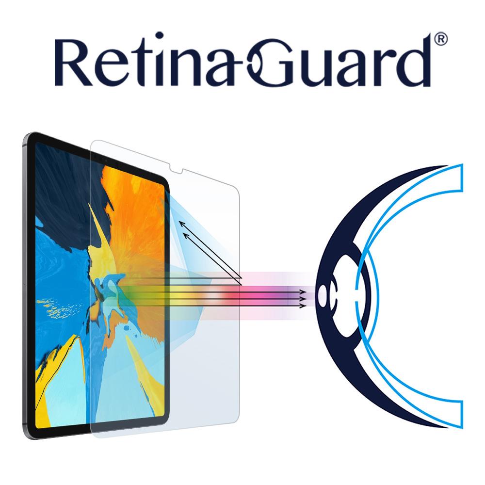 RetinaGuard 視網盾 IPAD PRO 11 (2018新版) 防藍光鋼化玻璃