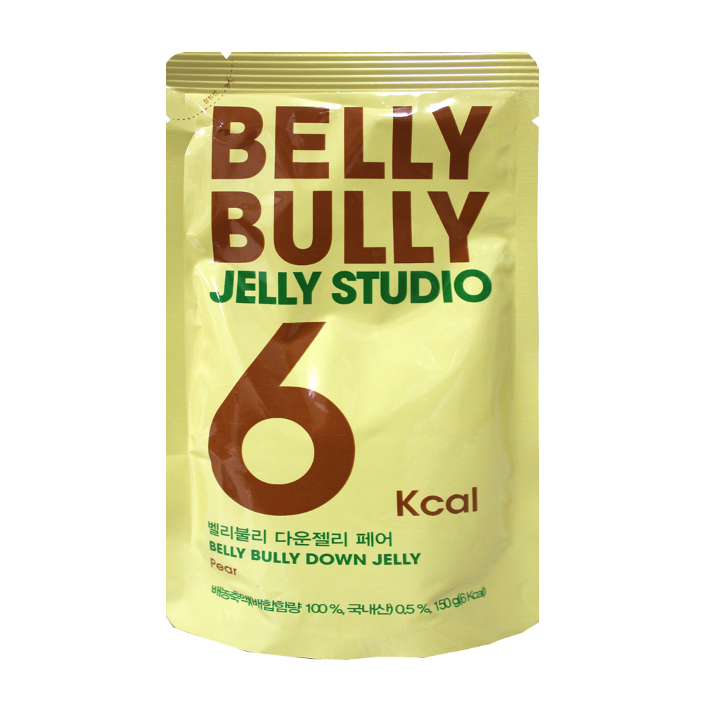 BELLY BULLY果凍飲-水梨味(150g)