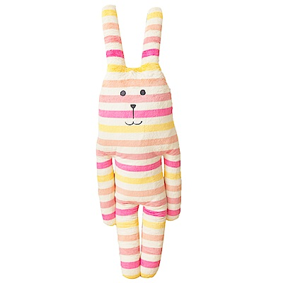 【買就送】CRAFTHOLIC宇宙人 粉紅檸檬兔大抱枕(贈吊飾)