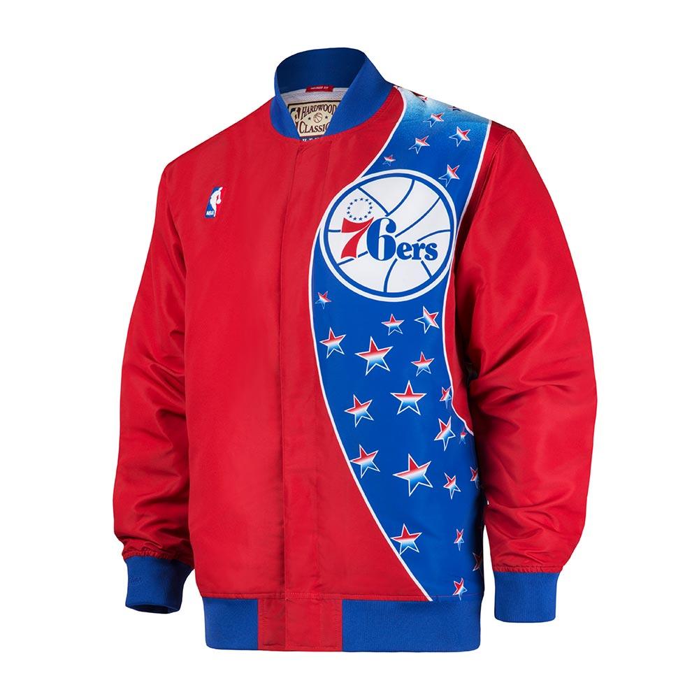 M&N NBA復古熱身外套 76人