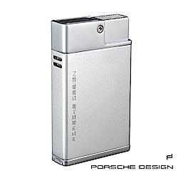 保時捷Porsche Design P3631雙噴射火焰打火機(銀)